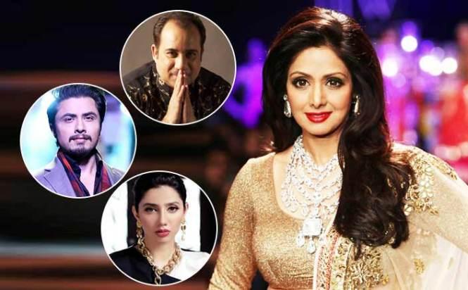 Pakistani stars saddened by Sridevi's death