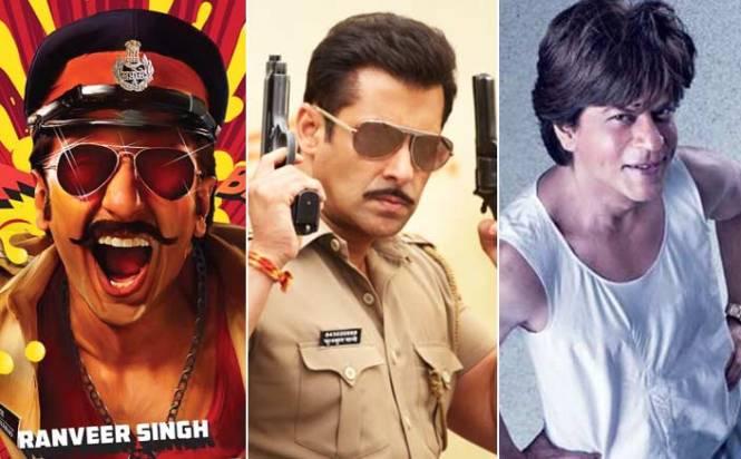 Salman Khan, Shah Rukh Khan and Ranveer Singh