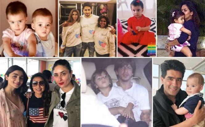 Taimur Ali Khan, Misha Kapoor, Abram & Adira Make It To Yash and Roohi's Grand Birthday Bash
