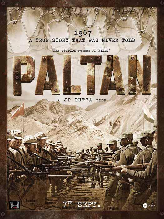 Paltan Poster
