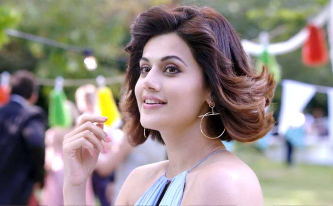 How Taapsee injured herself while shooting a car crash