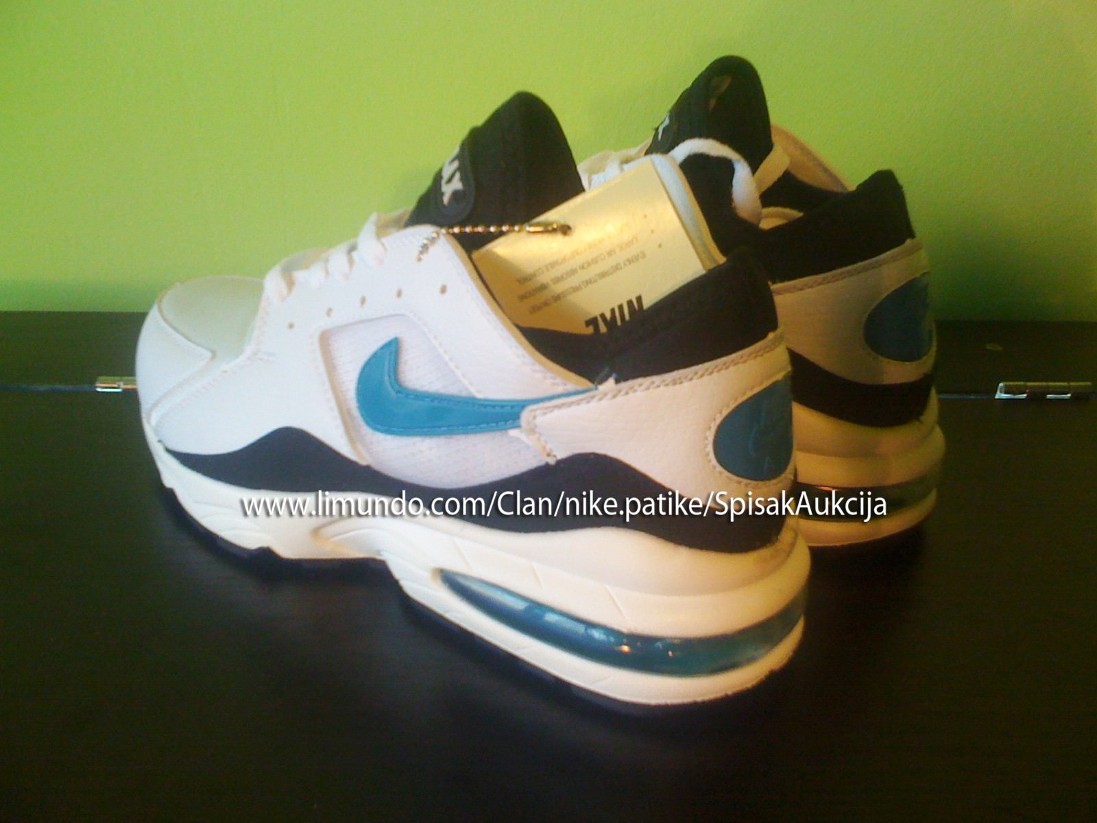Nike Patike Sweden Patike Novo Nike Air Max 93 Original D5216 70697