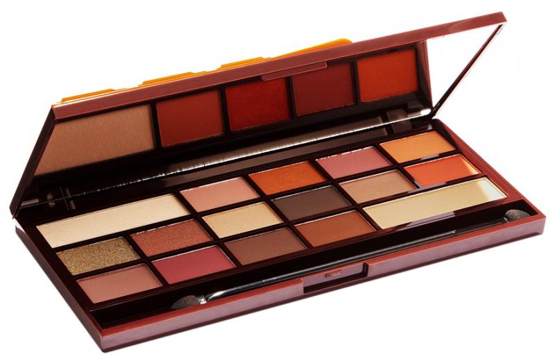 I Makeup 16 Eyeshadow Palette Chocolate Orange
