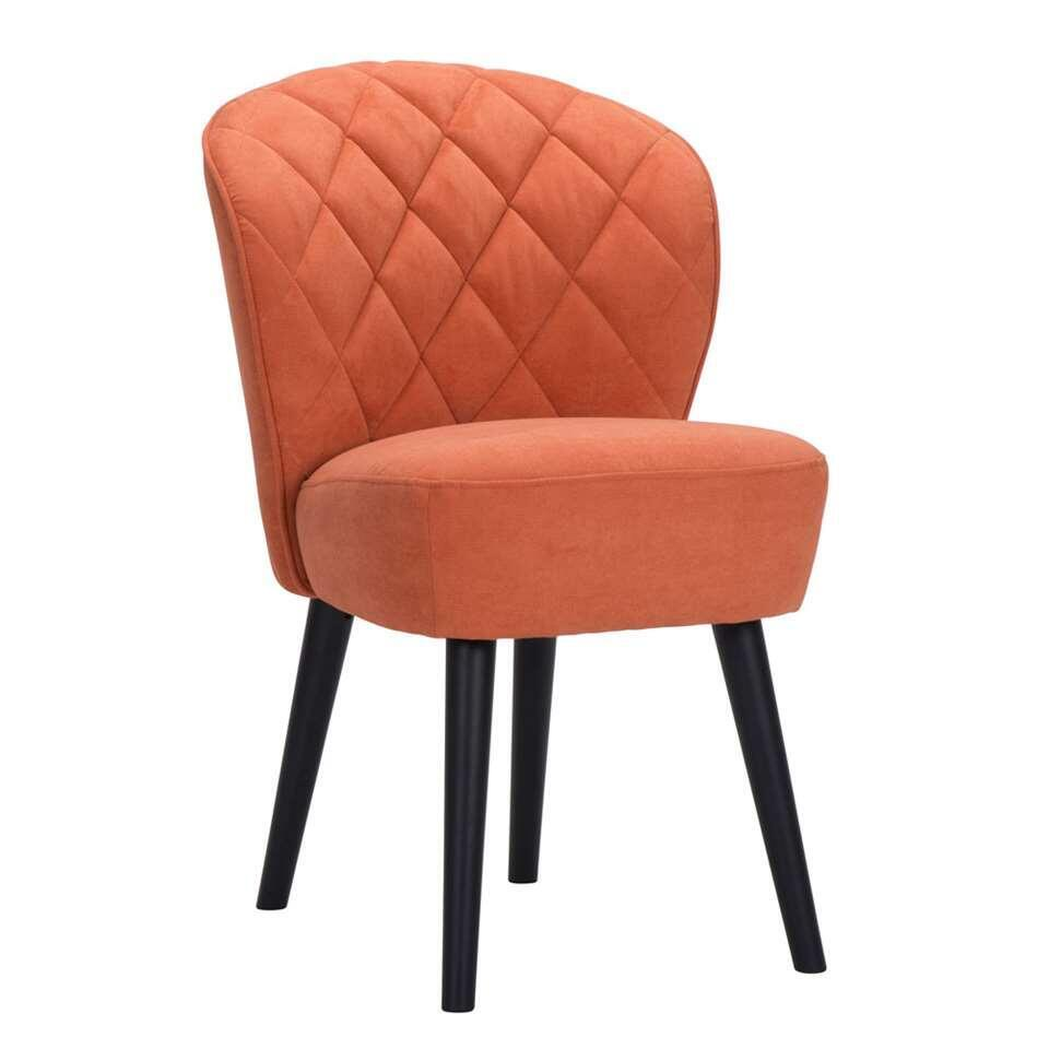 Chaise Salle A Manger Leen Bakker Chaise Vita - Orange