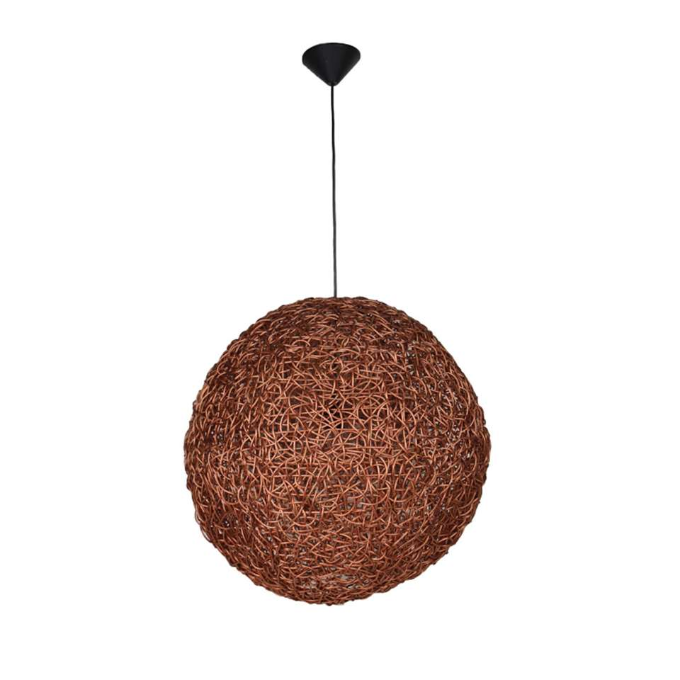 Suspension Ronde Hsm Collection Suspension Ronde Cuivre 60x60x60 Cm