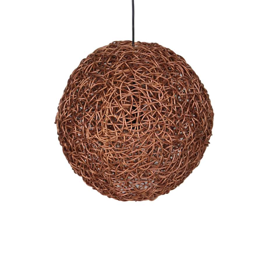Suspension Ronde Hsm Collection Suspension Ronde Cuivre 40x40x40 Cm