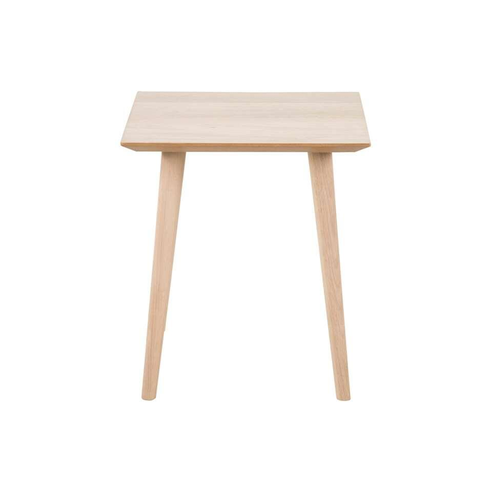 Table De Cheve Table De Chevet Edsta Naturel 55x50x50 Cm