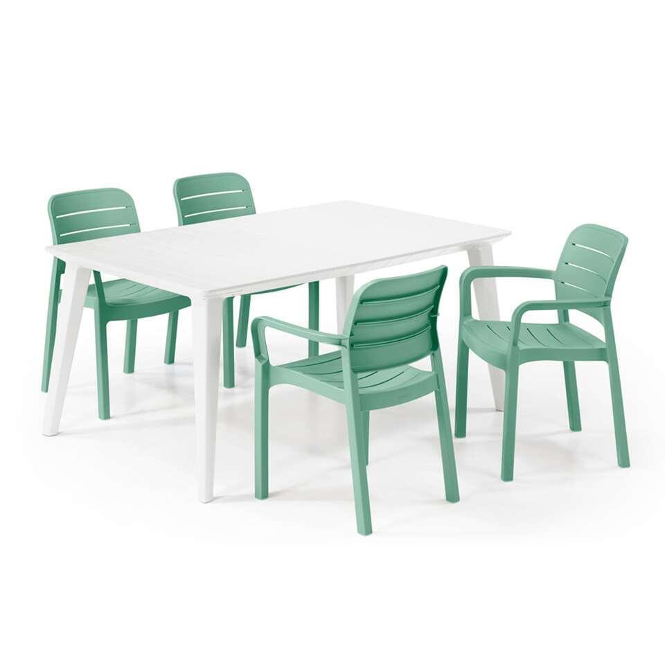 Table De Terrasse Plastique