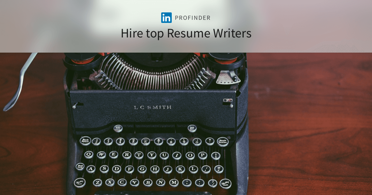 best resume writers and expert executive and professional