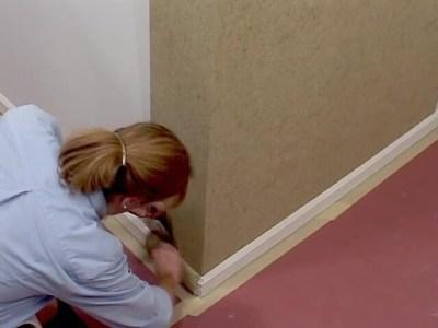 Wallpaper Installation - Outside Corner Hanging » American Blinds Video Site