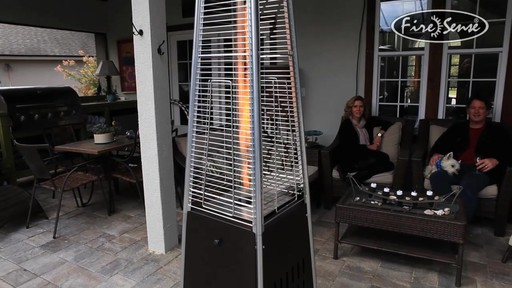 Mocha Pyramid Flame Patio Heater Welcome To Costco Wholesale