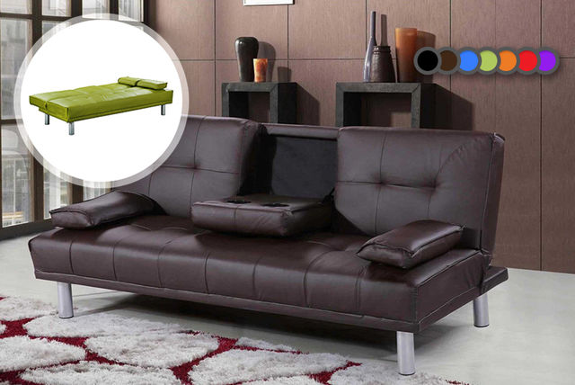 Manhattan Cinema Sofa Bed With Cup Holders 7 Colours