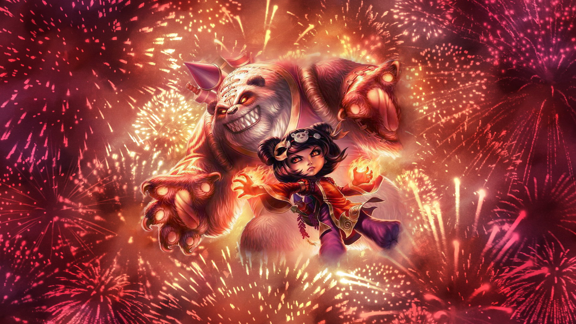 Gangplank Wallpaper Hd Panda Annie Fan Art League Of Legends Wallpapers