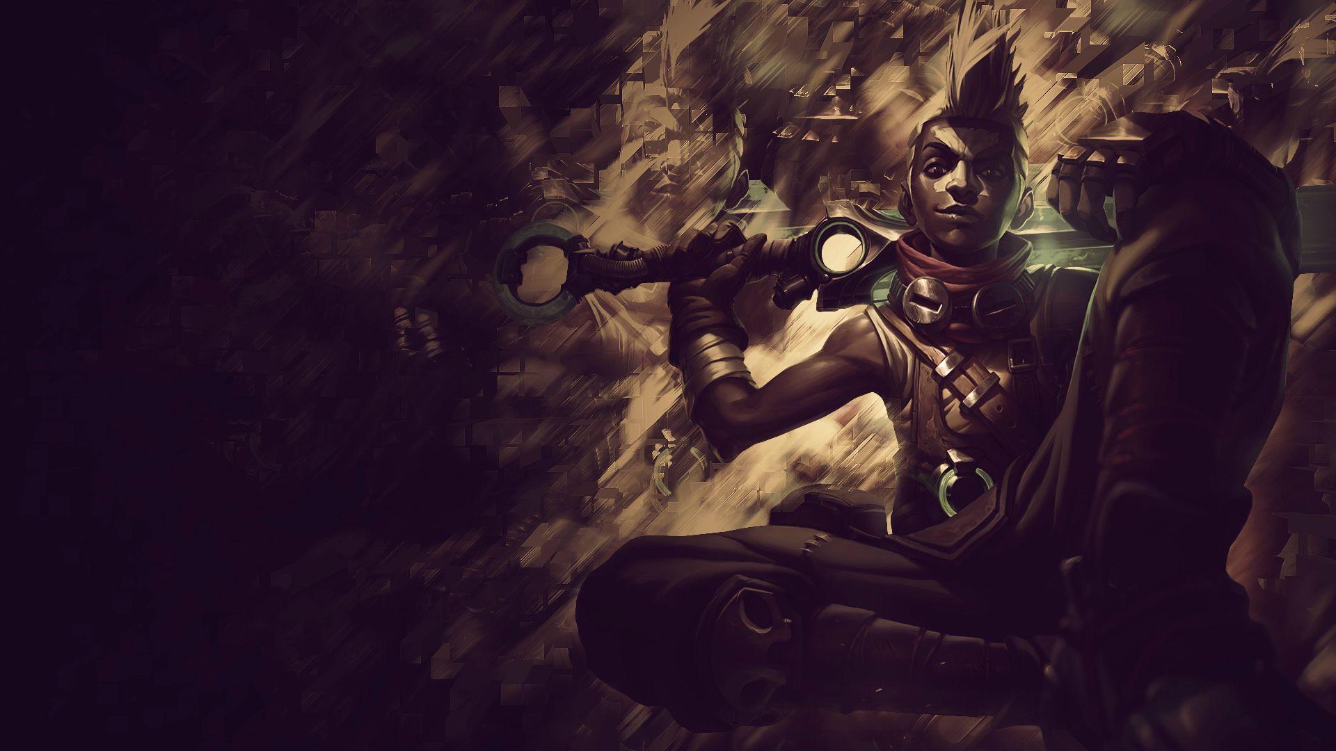 League Of Legends Zed Wallpaper Hd Ekko Fan Art League Of Legends Wallpapers
