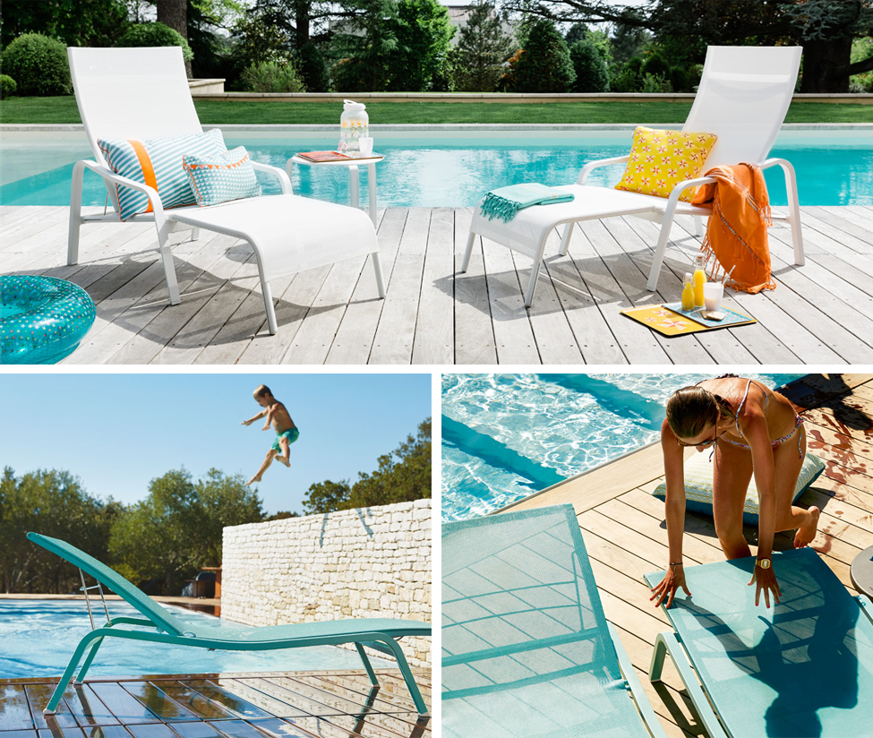 Chaise Longue Piscine Fermob Fermob Nouvelle Collection