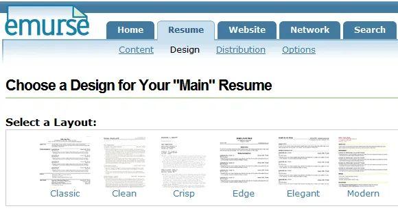 free resume upload sites