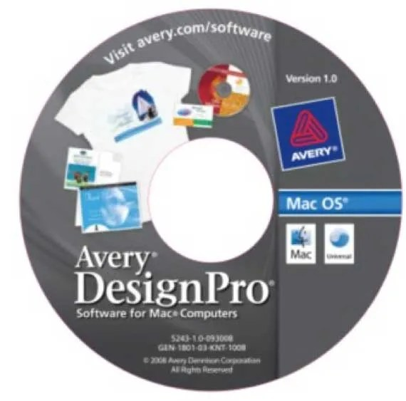 How To Create New Design Projects Using Avery DesignPro