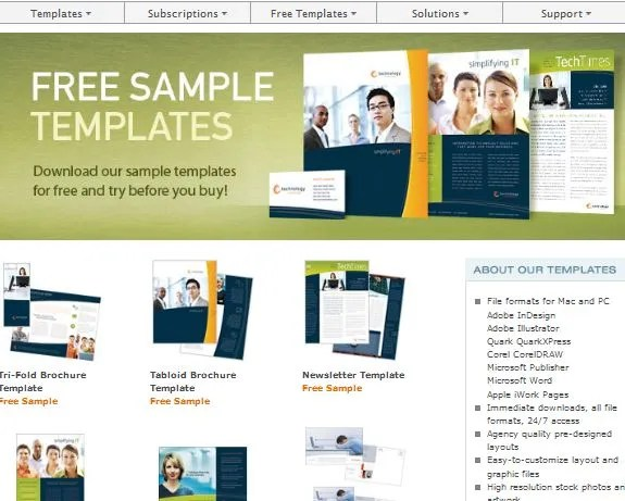 Download Free Microsoft Word Templates - free newsletter templates for word