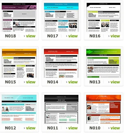 The Best Websites for Free High-Quality Newsletter Templates - Newsletter Templates Free Word