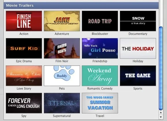 How To Compile Your Holiday Videos Into A Cool Movie Trailer With