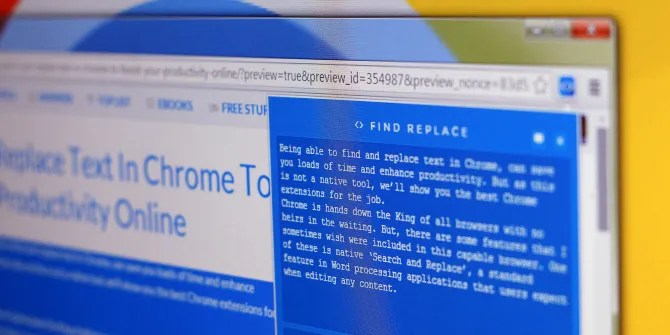 Search And Replace Text In Chrome To Boost Your Productivity Online