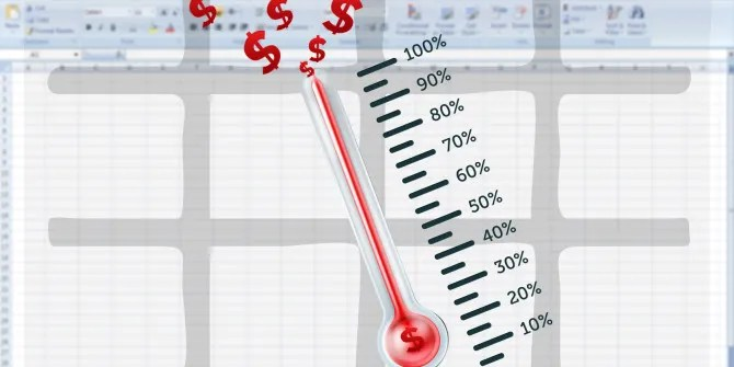 How to Create Your Custom Excel Fundraising Thermometer Template - thermometer template