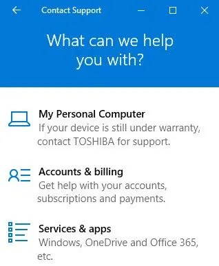How You Can Get Help in Windows 10 - help and support