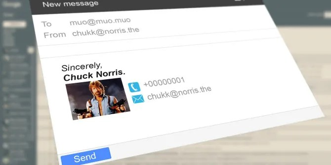 How to Make Cool Gmail Signatures Right from Google Drive