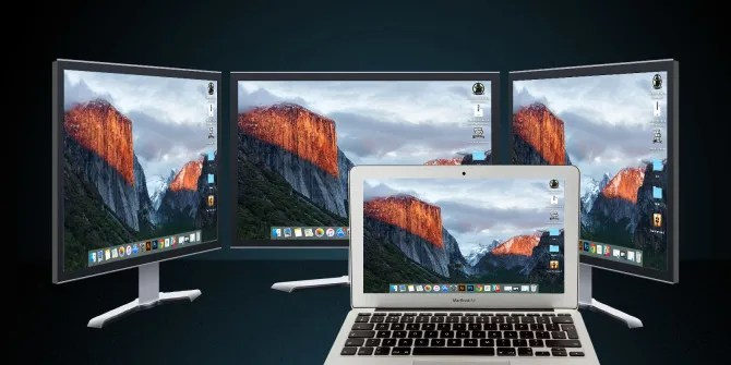 Essential Tools  Tips for Working With Multiple Mac Monitors - multi screen display