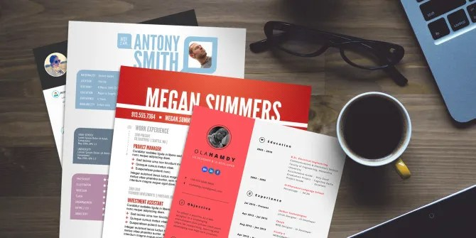 15 Free Creative Resume Templates for Photoshop and Illustrator - creative resume template free