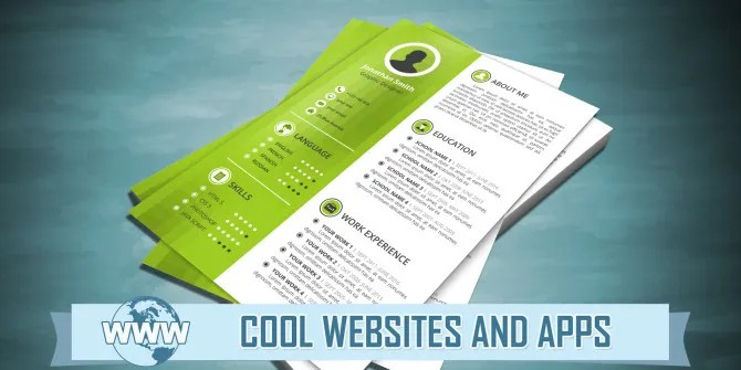 The Last 5 Resume-Building Apps and Sites You\u0027ll Ever Need - resume building sites