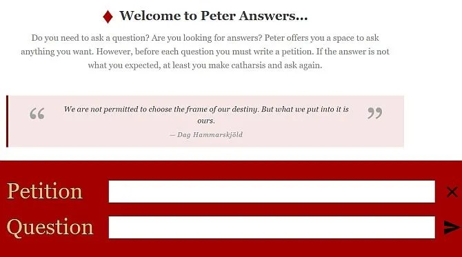 How Does Ask Peter Work? The Code Behind the Prank