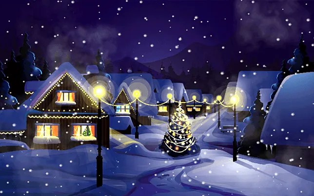 Falling Snow Live Wallpaper For Pc How To Add A Christmas Theme To Windows 10