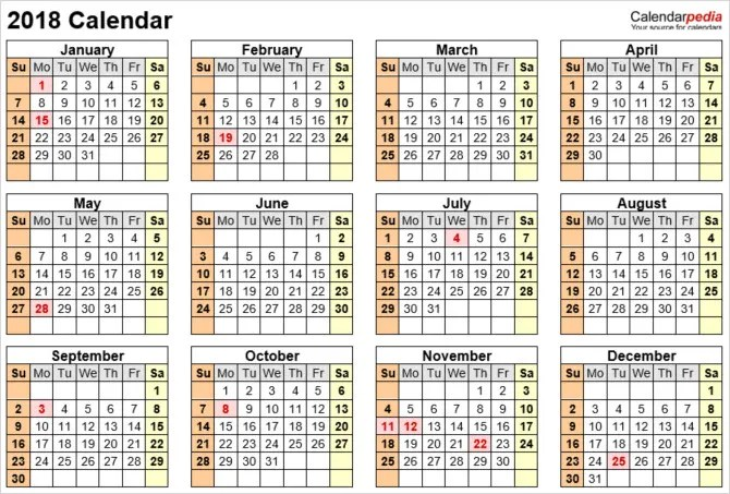The Best Free Microsoft Office Calendar Templates for Staying Organized - office template calendar