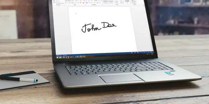 How to Add Electronic Signatures to Microsoft Word Documents for Free