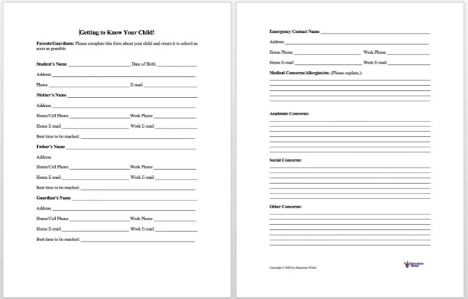 Information Sheet Templates  Information Sheet Templates - sample employee information sheet