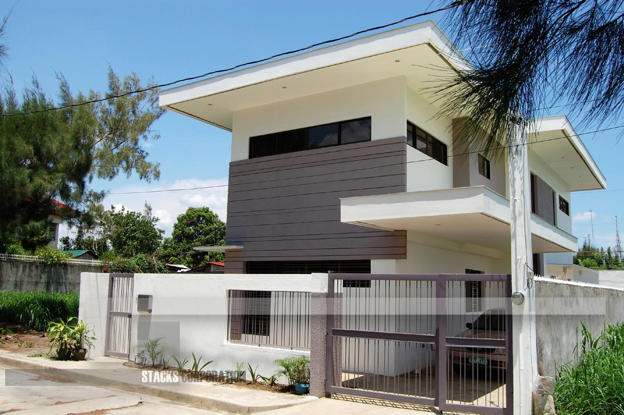 3d Brick Wallpaper Philippines Modern Contemporary Design House In Laguna Philippines