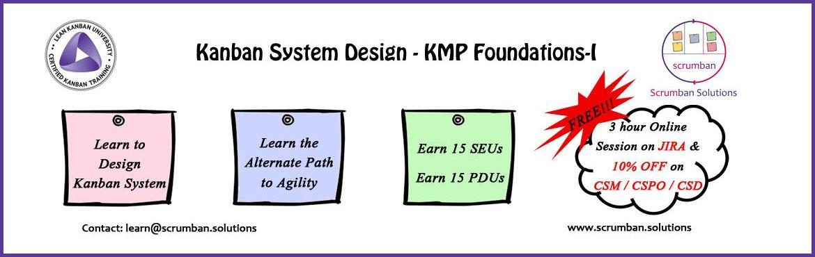LKU Certified Kanban System Design  KMP-I Pune 26-27 March 2016