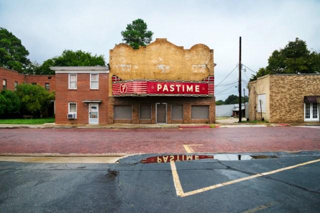 DSC_4192, Deep South, Warren, Arkansas, USA, 09/2013, USA-10914. Pastime theatre. Final Deep South selection for Smithsonian. retouched_Sonny Fabbri 11/25/2014