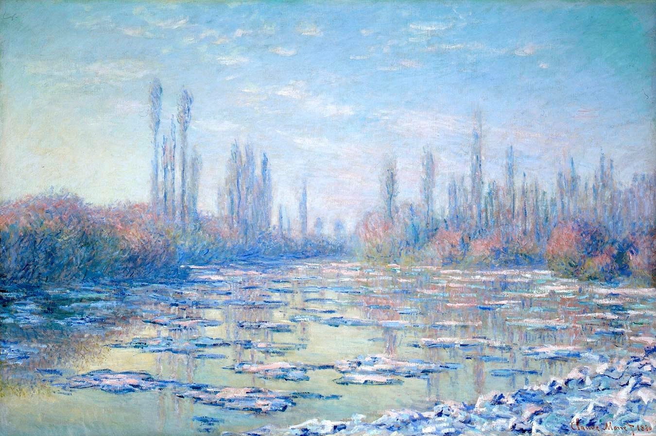 Light Effect Hd Wallpaper Monet And The Seine Impressions Of A River The Museum