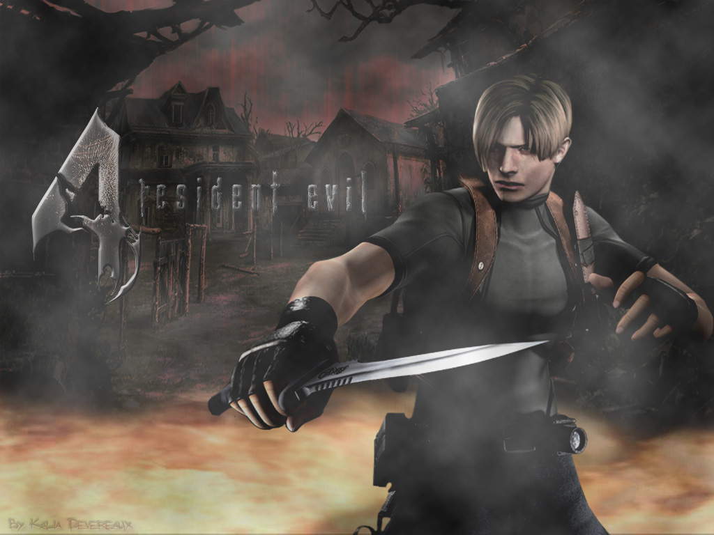Leon S Kennedy Hd Wallpaper Resident Evil 1 Wallpaper No Where To Turn Minitokyo