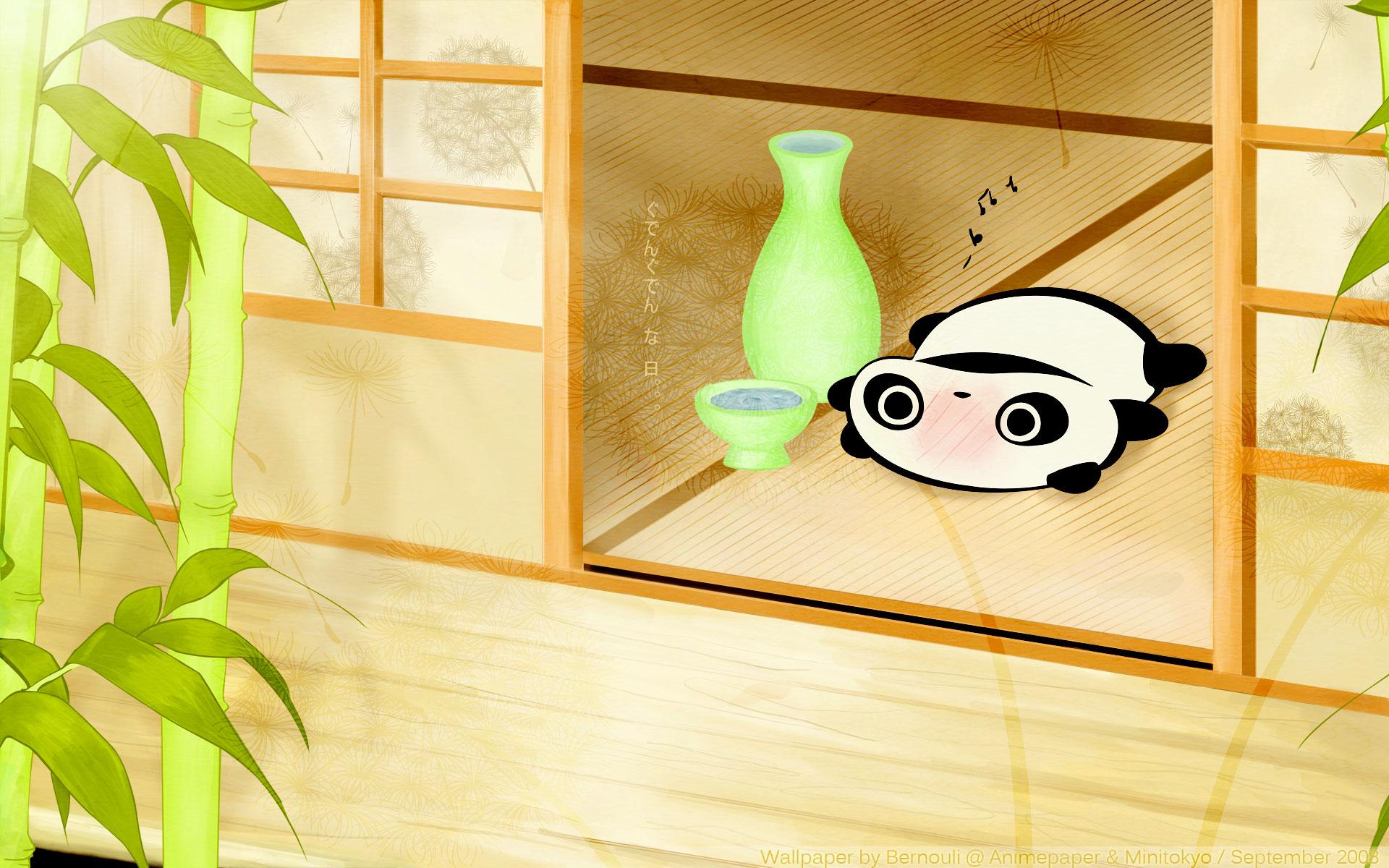 Cute Cartoon Sushi Wallpaper Tarepanda Wallpaper Gudenguden Na Hi Minitokyo