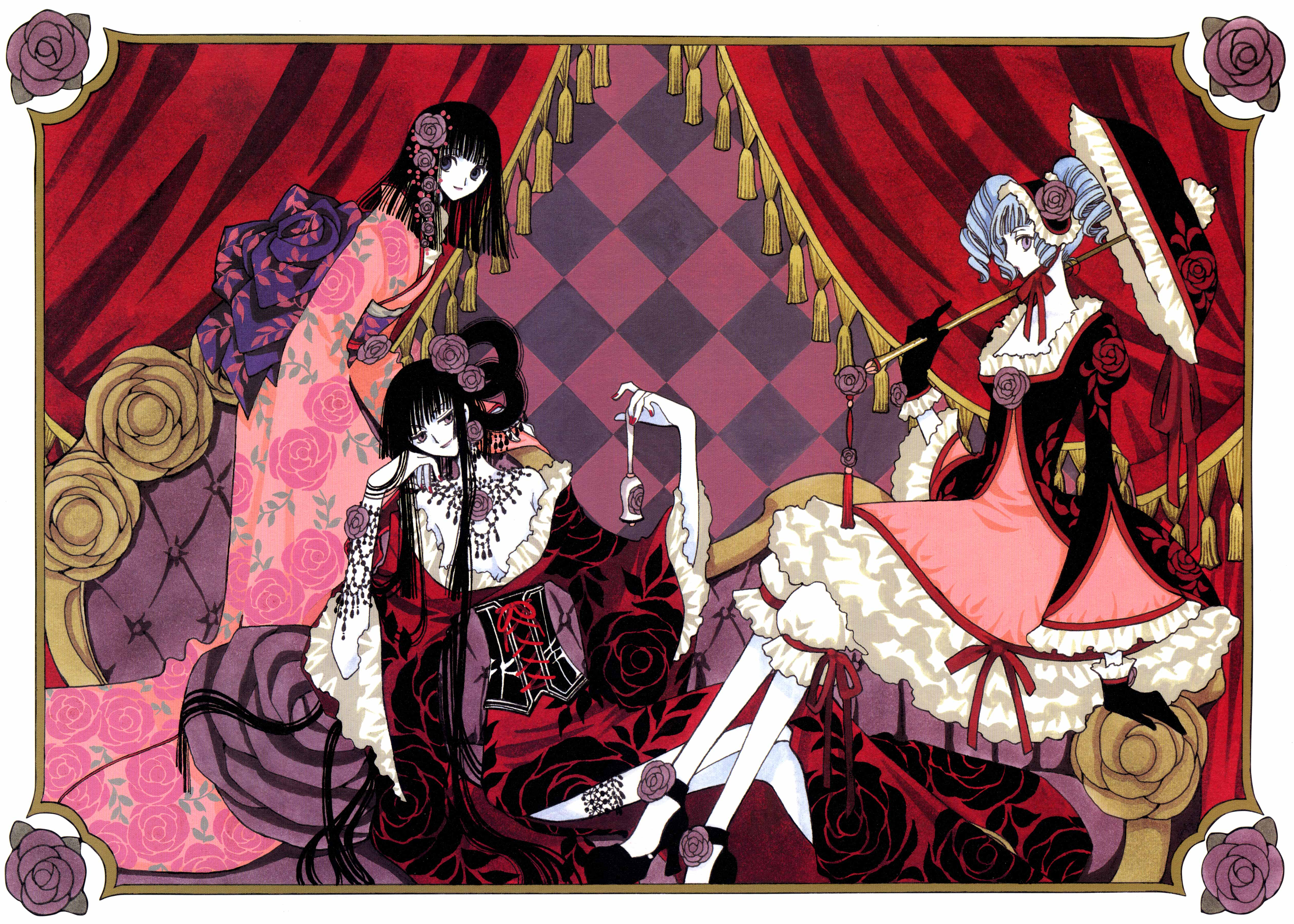 Cute November Calendar Wallpaper Xxxholic Mystical Parlor Minitokyo
