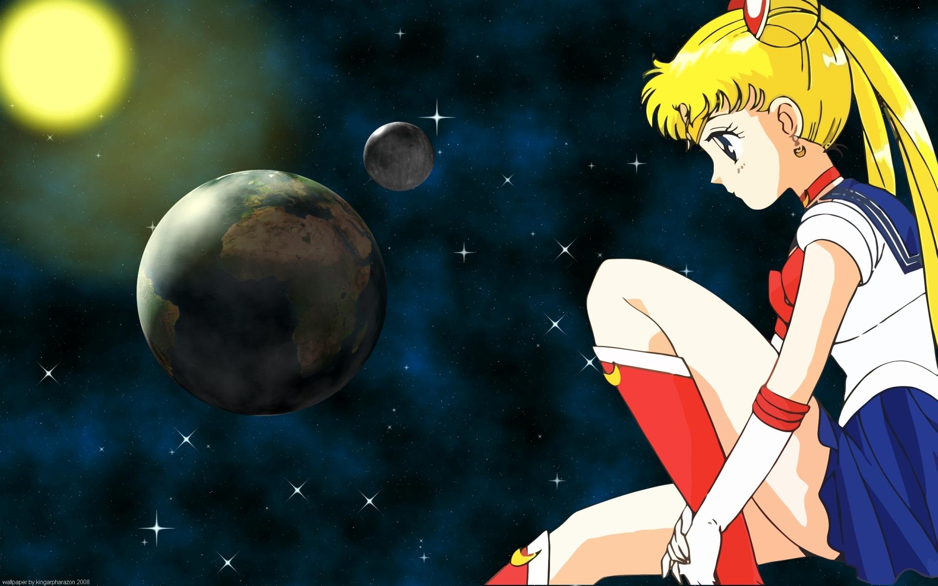 Wallpaper Dark Anime Bishoujo Senshi Sailor Moon Wallpaper Moon Minitokyo