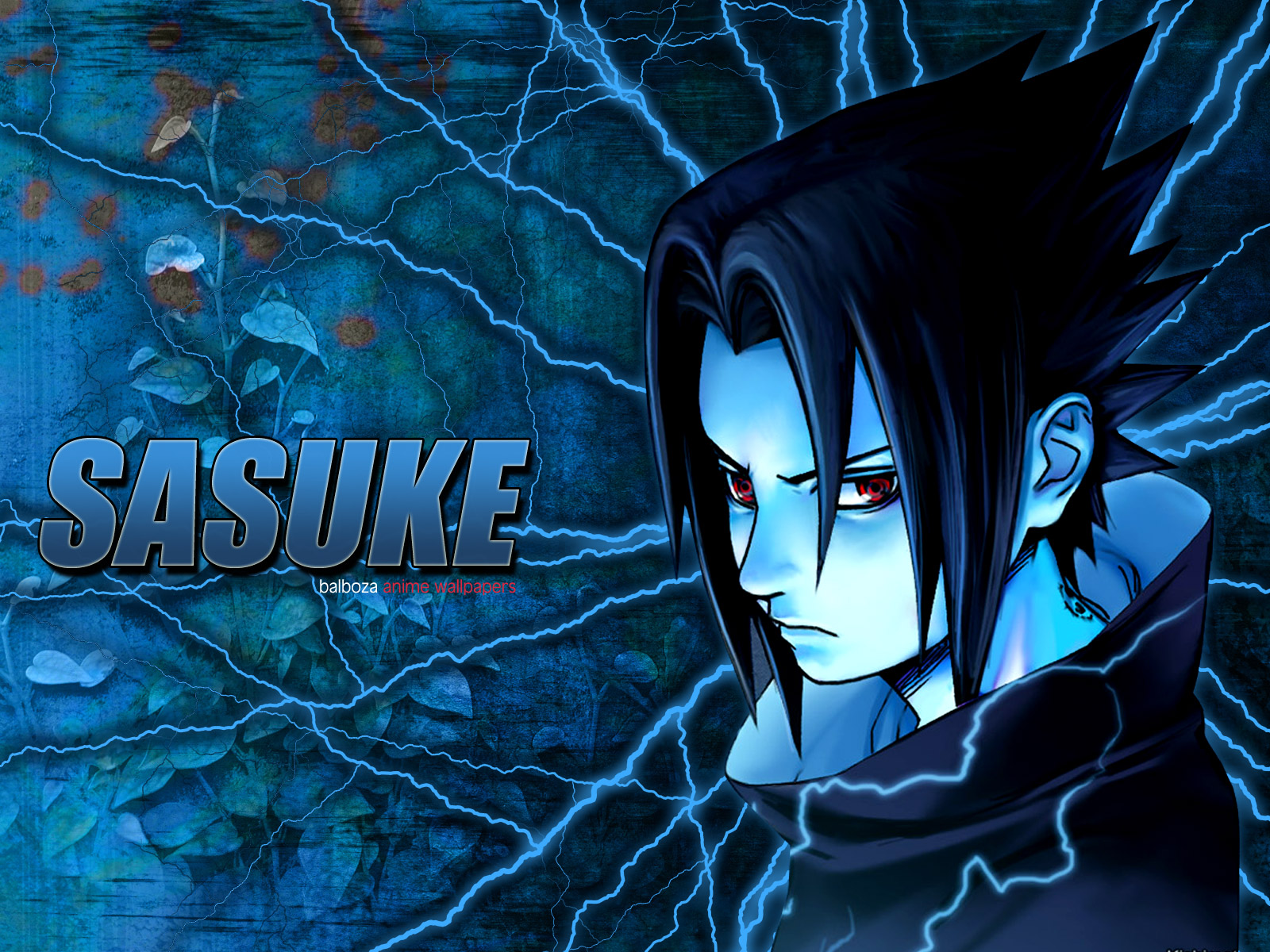 Really Cool 3d Wallpapers Naruto Wallpaper Sasuke Blue Minitokyo