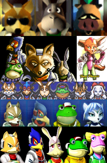 Tear Wallpaper With Quotes Star Fox Series Characters All The Tropes