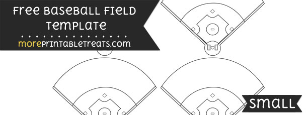 Baseball Field Template \u2013 Small - baseball field template
