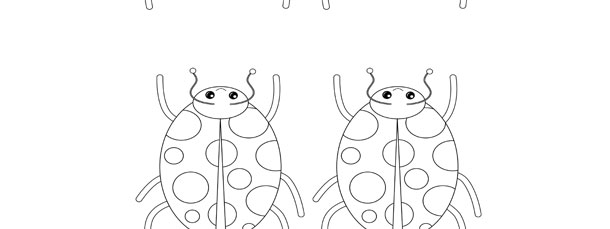 Ladybug Template \u2013 Small