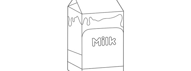 Milk Carton Template \u2013 Large - Milk Carton Template