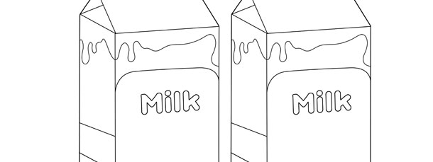 Milk Carton Template \u2013 Medium - Milk Carton Template